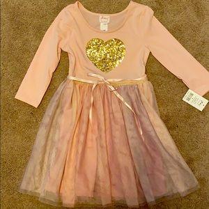 Ballerina style dress for girls